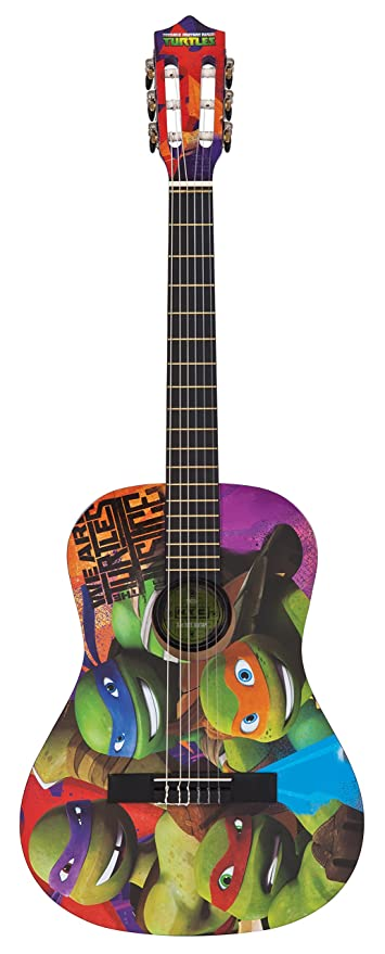 Teenage Ninja Mutant Turtles TMG34 - Set de guitarra ...
