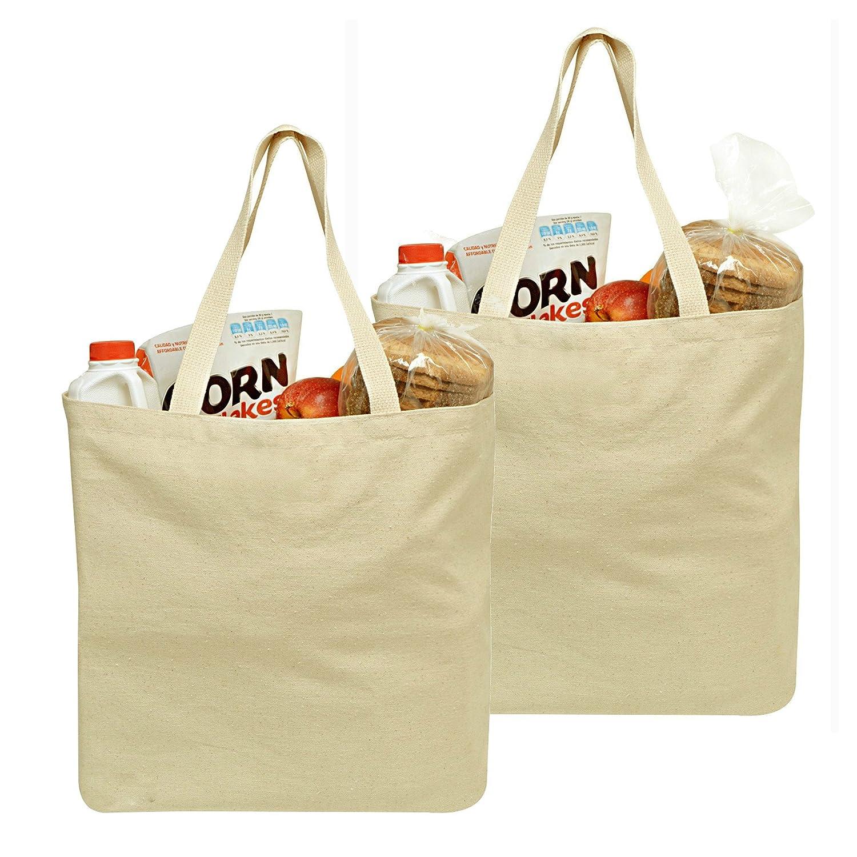 芸能人愛用 食料雑貨キャンバスバッグ - 19インチ x 15インチ 19インチ B01J4IB5HU - 長持ちさせるように二重縫いを施しており、重い食料品を持つための丈夫なショルダーストラップ2本が付いています -。食料品用キャンバストートバッグが、食料品のお買い物をする際の環境に優しいソリューションです。 Extendable 5070E B01J4IB5HU Regular Regular|2, くすのき工房:e7c02445 --- agiven.com