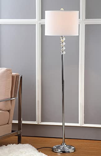 Safavieh Lighting Collection Vendome Clear 60.25-inch Floor Lamp