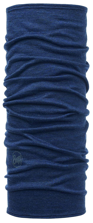 Buff Solid Merino Junior Tubular Lana, Unisex Adulto, Azul (Denim), Talla Única 113020.788.10.00
