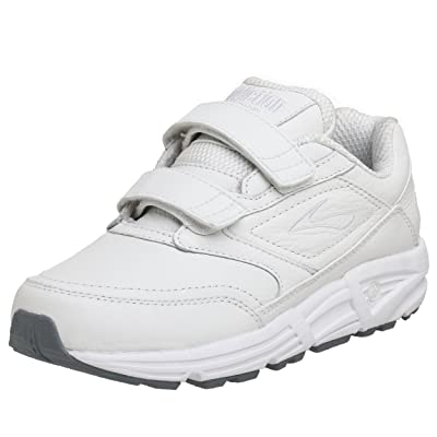 Brooks Women's Addiction, White, 10.5 EE - Extra Wide | Walking