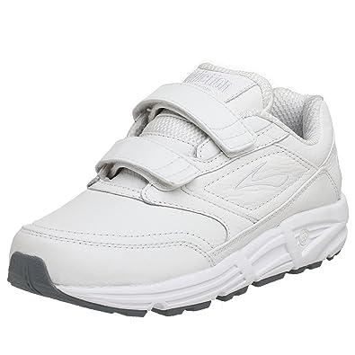 Brooks Women's Addiction Walker V-Strap Walking Shoe,White ...