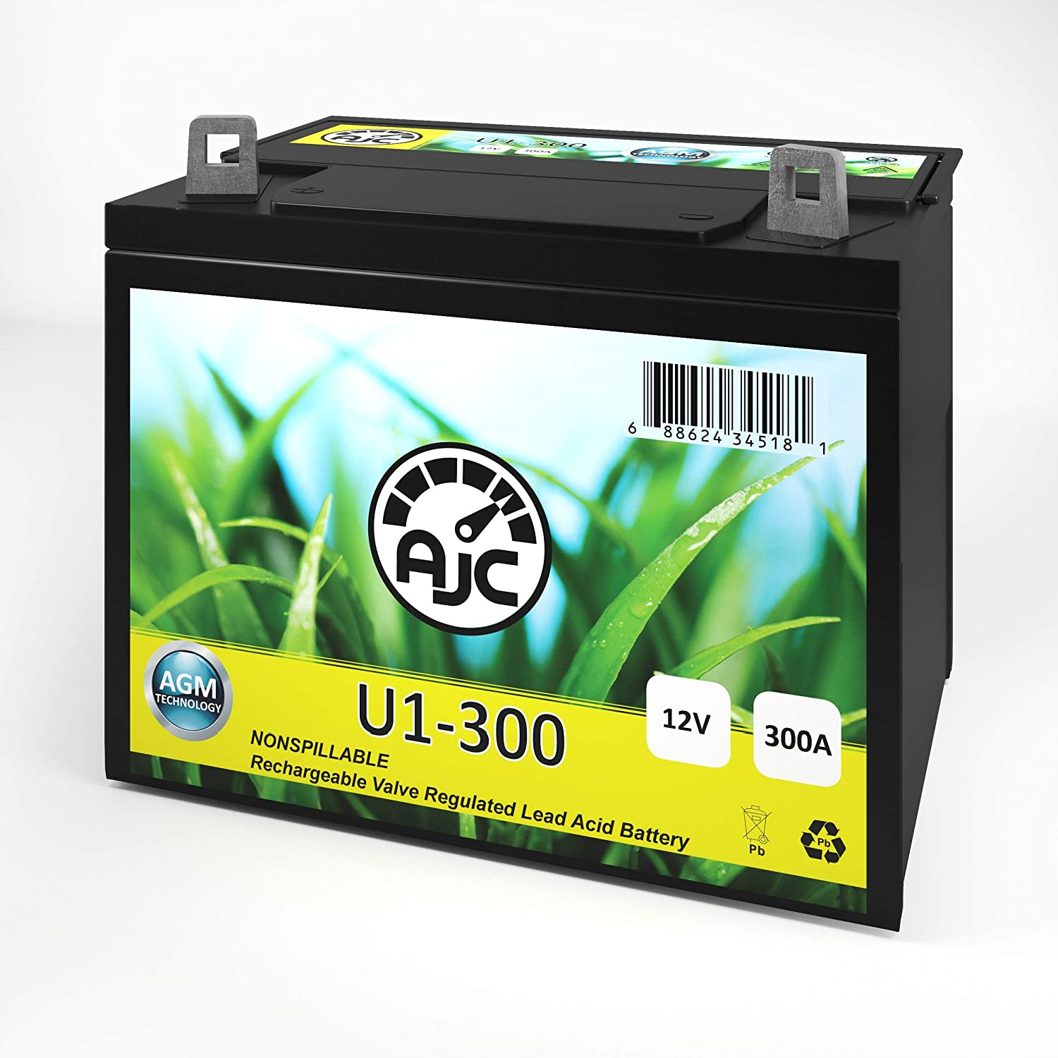 AJC Battery Compatible with John Deere X710 U1 Lawn Mower and Tractor Battery