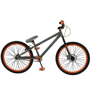 Zombie Boy Airbourne Vélo, gris/orange, taille 24