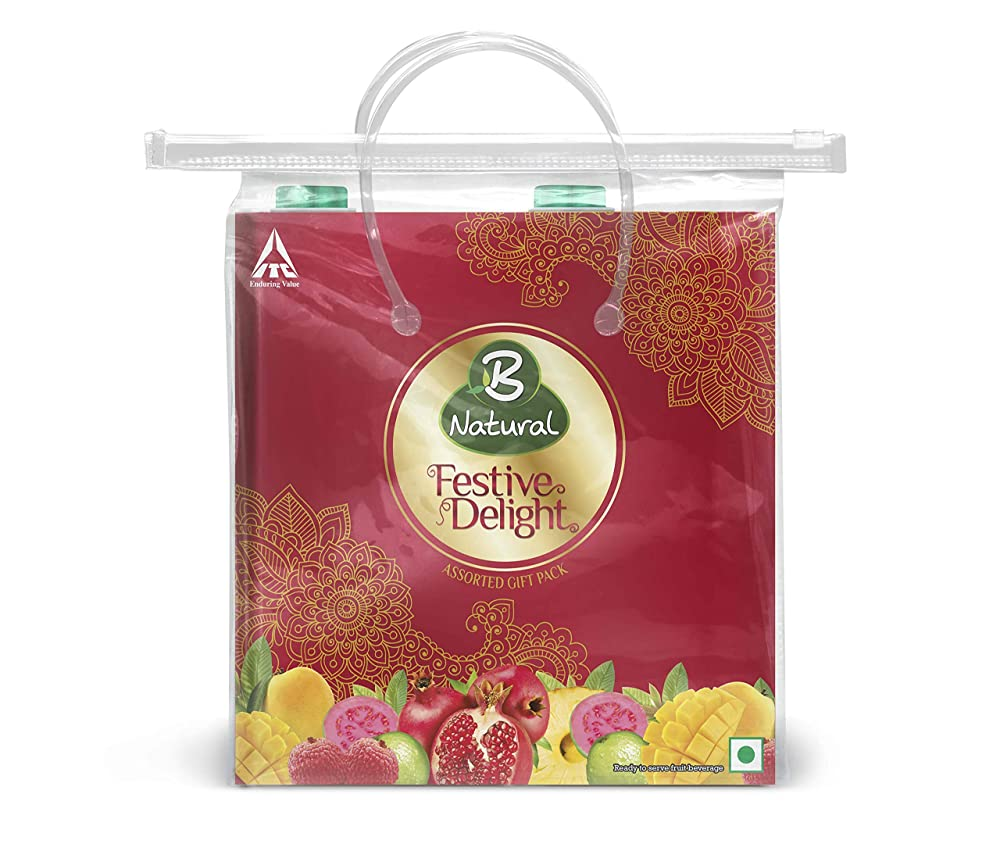 B Natural Festive Delight Carry On Pack, 2 L