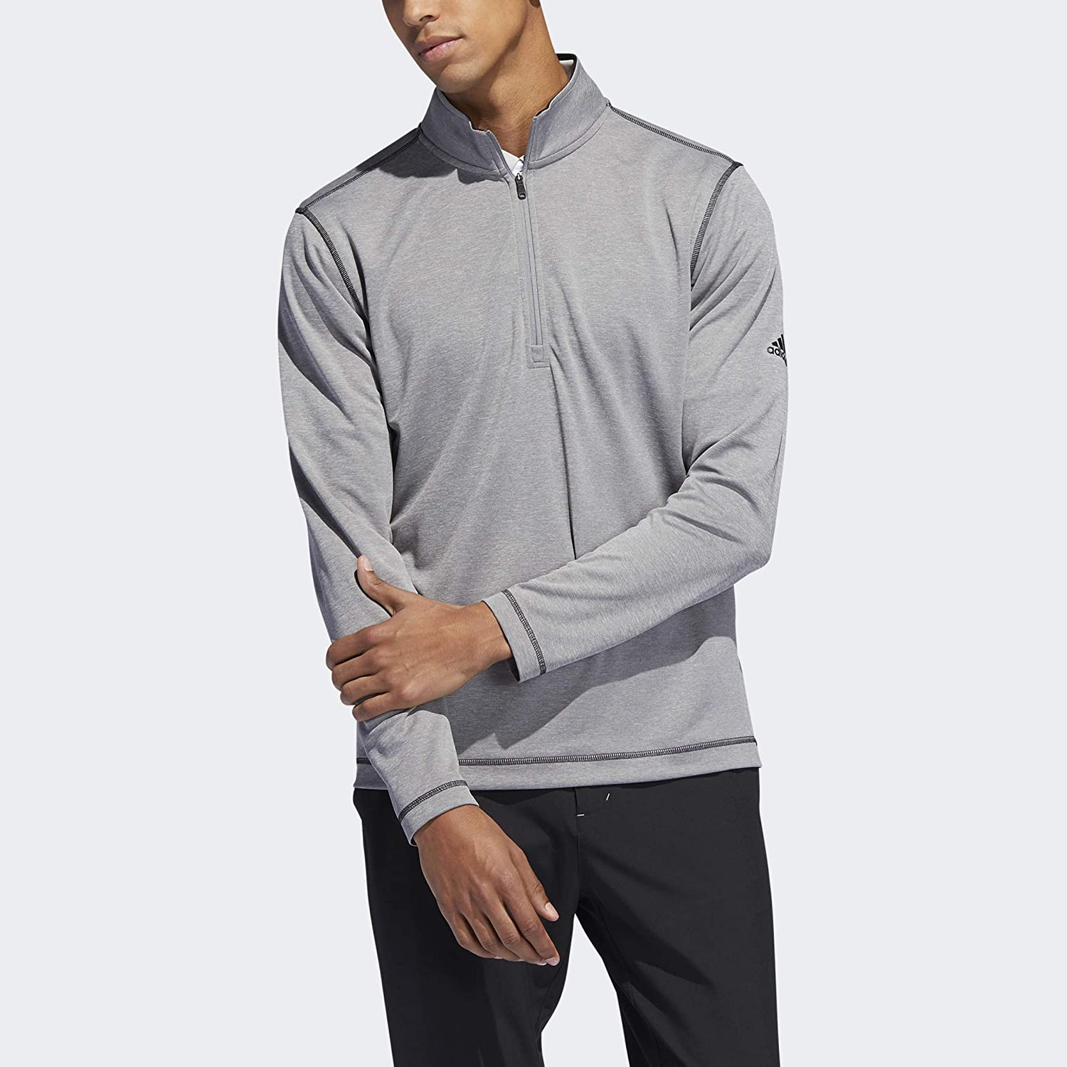 adidas Golf Men's UV Protection 1 Model In a popularity 2019 Zip 4 Jacket Seattle Mall