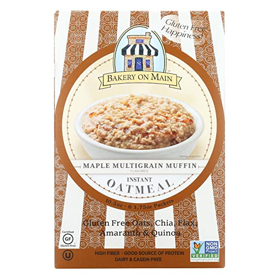 Bakery On Main - Mollete inmediato de Multigrain del arce de la harina de avena -