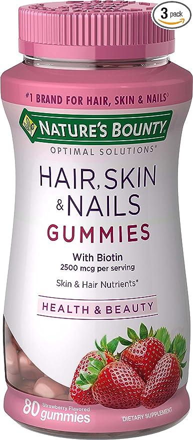 vitamina para el pelo y la piel