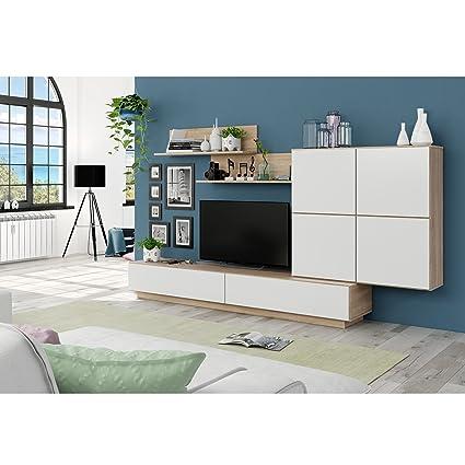 Habitdesign 026665F - Mueble de Comedor, Mueble Salon Moderno ...