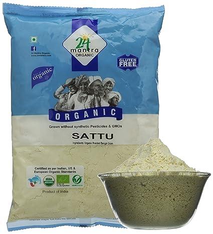 24 Mantra Organic Sattu Atta, 500g
