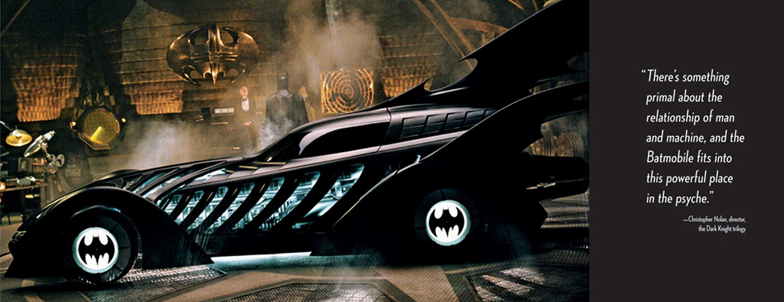 Batmobile: The Complete History: Mark Cotta Vaz: 9781608871032: Amazon.com:  Books