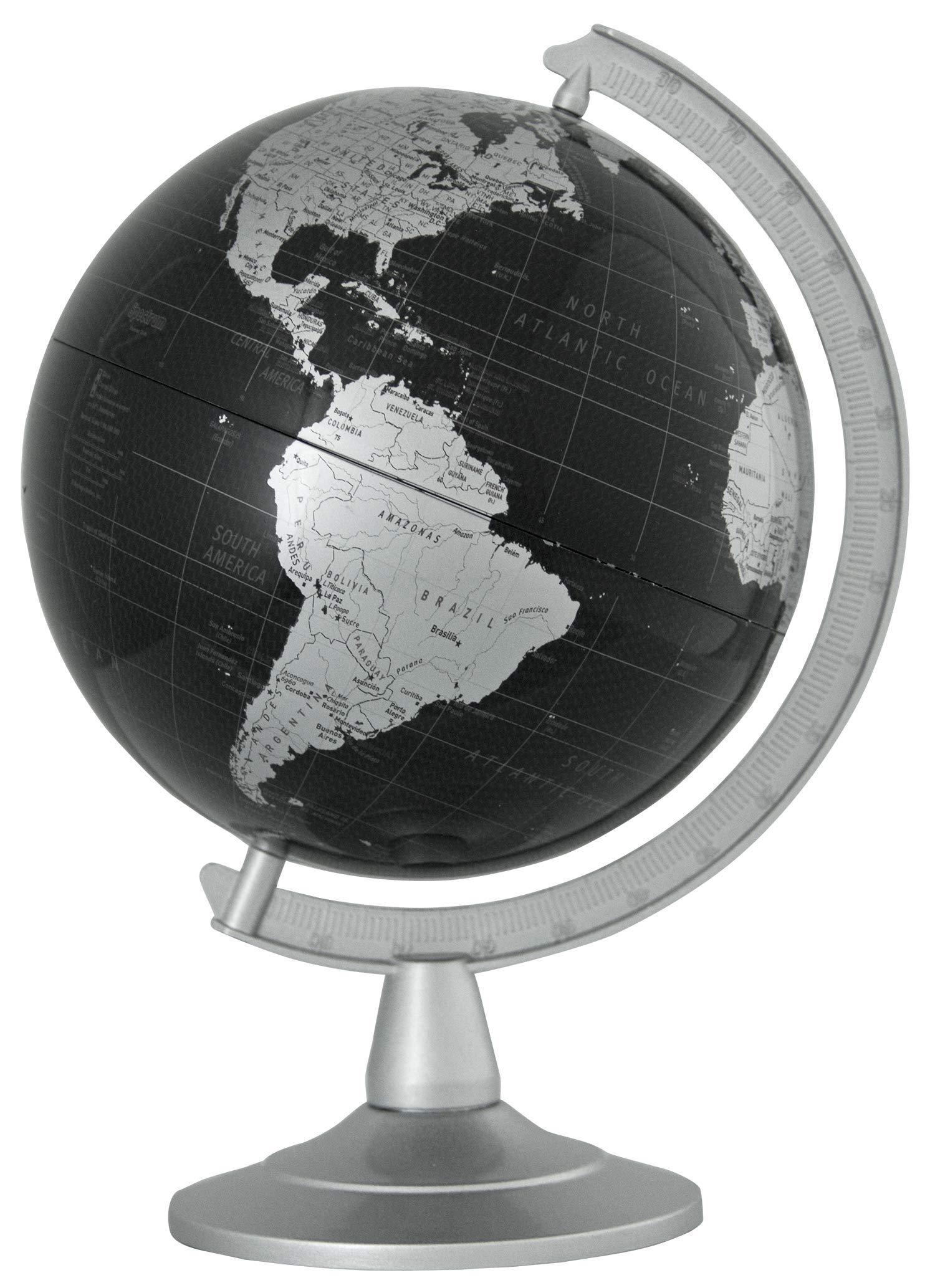 Replogle Delegate 6 inch Diameter -Modern Mini Globe Perfect for Office Desk or Student Desk