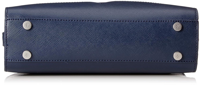 Marc O'Polo dam Hailey axelväska, 9,5 x 28 x 21 cm blå (marin)