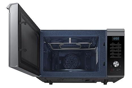 Samsung MC28M6075CS Encimera - Microondas (Encimera, Microondas combinado, 28 L, 900 W, Botones, Giratorio, Negro, Plata): Amazon.es: Hogar