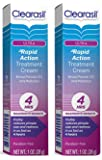 Clearasil Ultra 4 Hour Rapid Action Treatment Cream, 1 Ounce Boxes (Pack of 2)