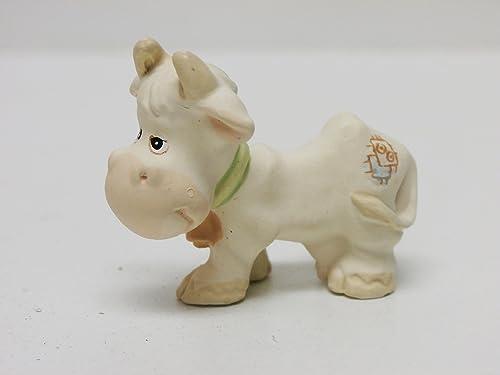 Precious Moments Miniature Pewter Nativity Set Cow, Donkey, Camel