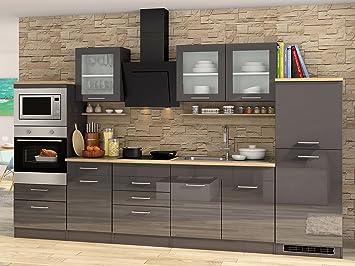 Küchenzeile Einbauküche Kochnische Küche Küchen-Set Küchenblock ...