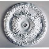Lightweight Resin Ceiling Rose Strong Design Not Polystyrene Easy Fix 51cm