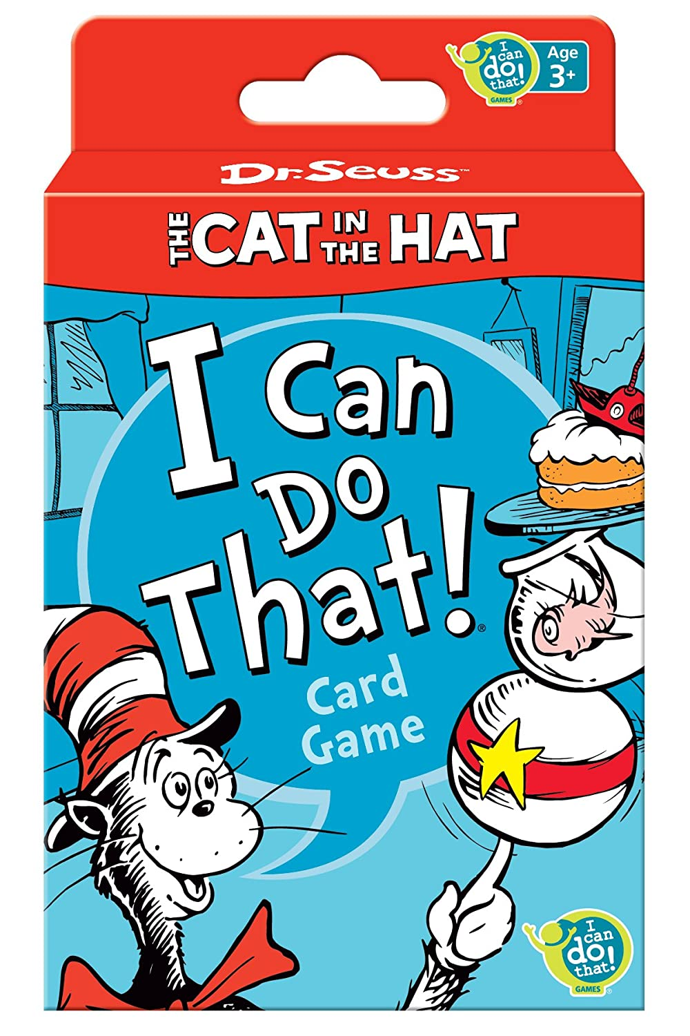 . Amazon com  Dr  Seuss Cat in the Hat Card Game  Toys   Games