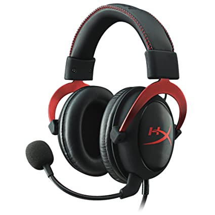 87e2ca575dc HyperX Cloud II Gaming Headset - 7.1 Surround Sound - Memory Foam Ear Pads  - Durable