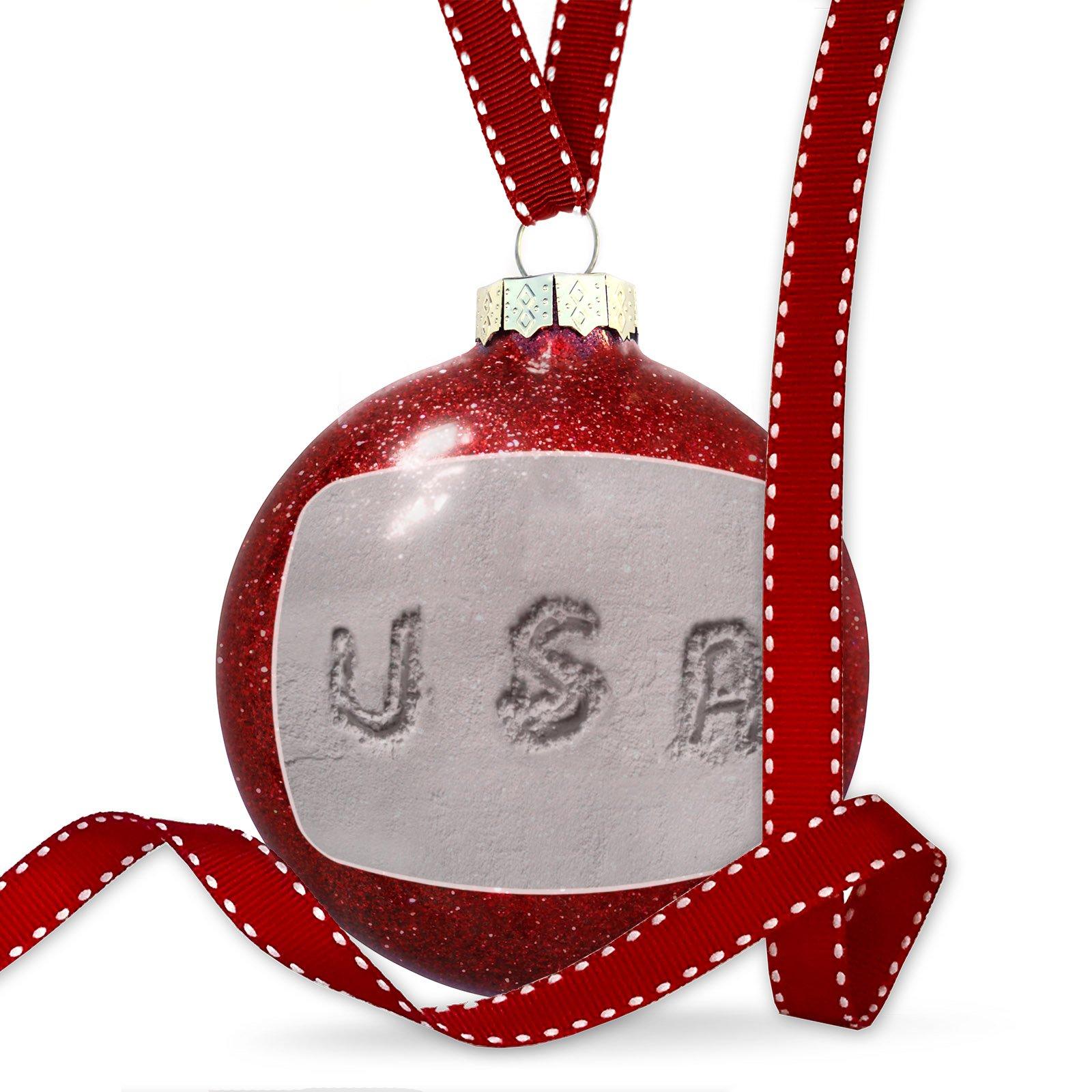 Christmas Decoration United States of America Flour Ornament
