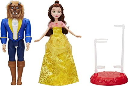 Disney Princess Beauty and the Beast Castle Friends Collection Figure Set
