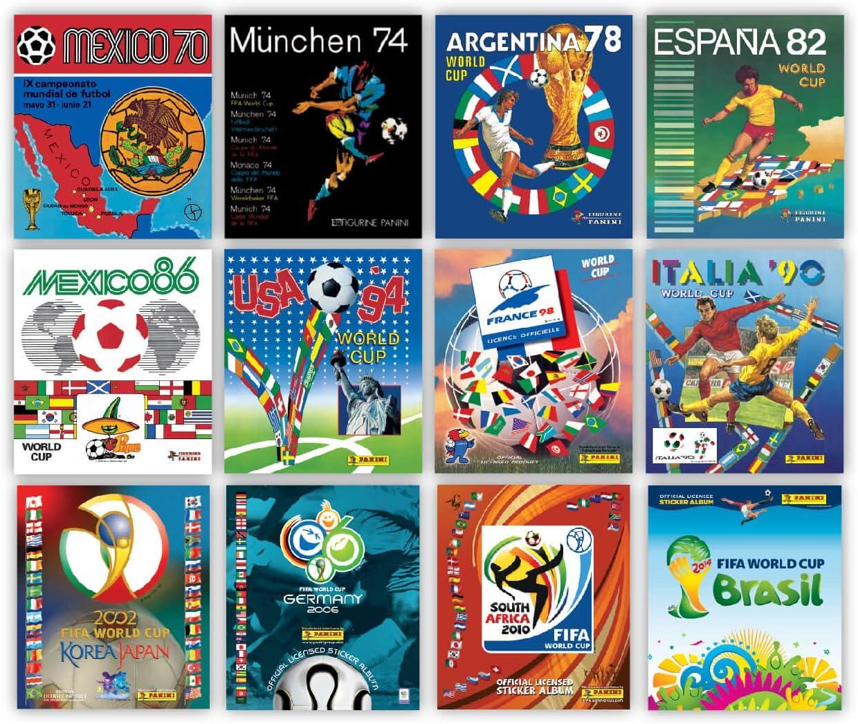 Copa Mundial de Panini Patrimonio ph001 Lithographic Impresiones Set: Amazon.es: Juguetes y juegos