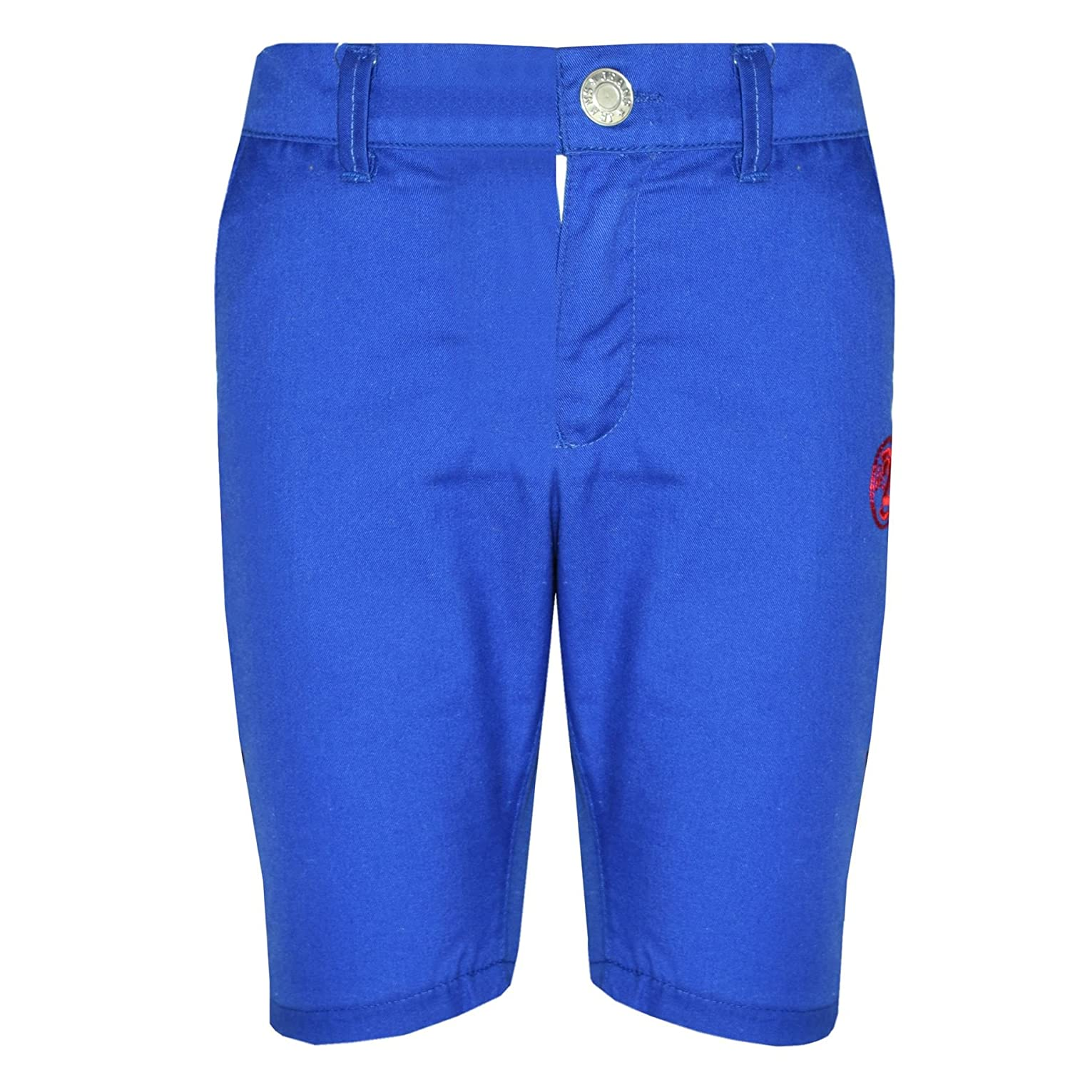 A2Z 4 Kids® Boys Summer Shorts Kids Cotton Royal Blue Chino Shorts Knee Length Half Pant New Age 2 3 4 5 6 7 8 9 10 11 12 13 Years