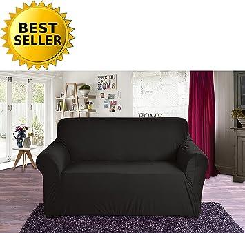 Amazon.com: Cubrecama elastizado de jersey muebles elegante ...