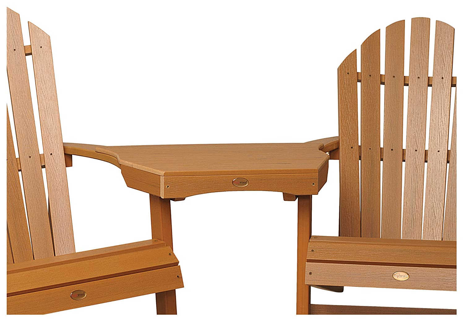 Highwood AD-CONT1-TFE Adirondack Tavolino Tête-à-tête, Legno Sintetico ed Ecologico Toffee TablesAndTables