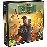 7 Wonders Duel Board Game (BASE GAME) | Board Game for 2 Players | Strategy Board Game | Civilization Board Game | Fun Board