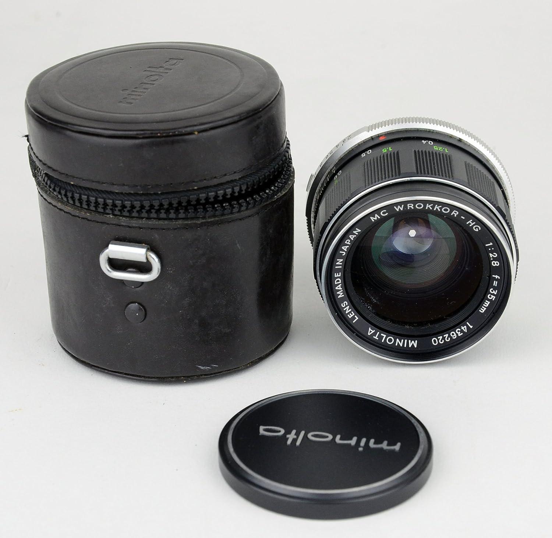 Minolta MC W.Rokkor-HG 35mm f:2.8 Wide Angle Lens MD mount Japan Manual Focus