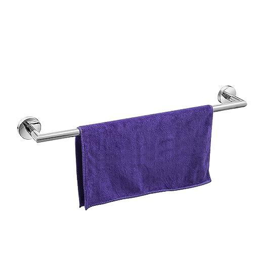 Amazon.com: Individual toallero de barra w/Base redonda (24 ...
