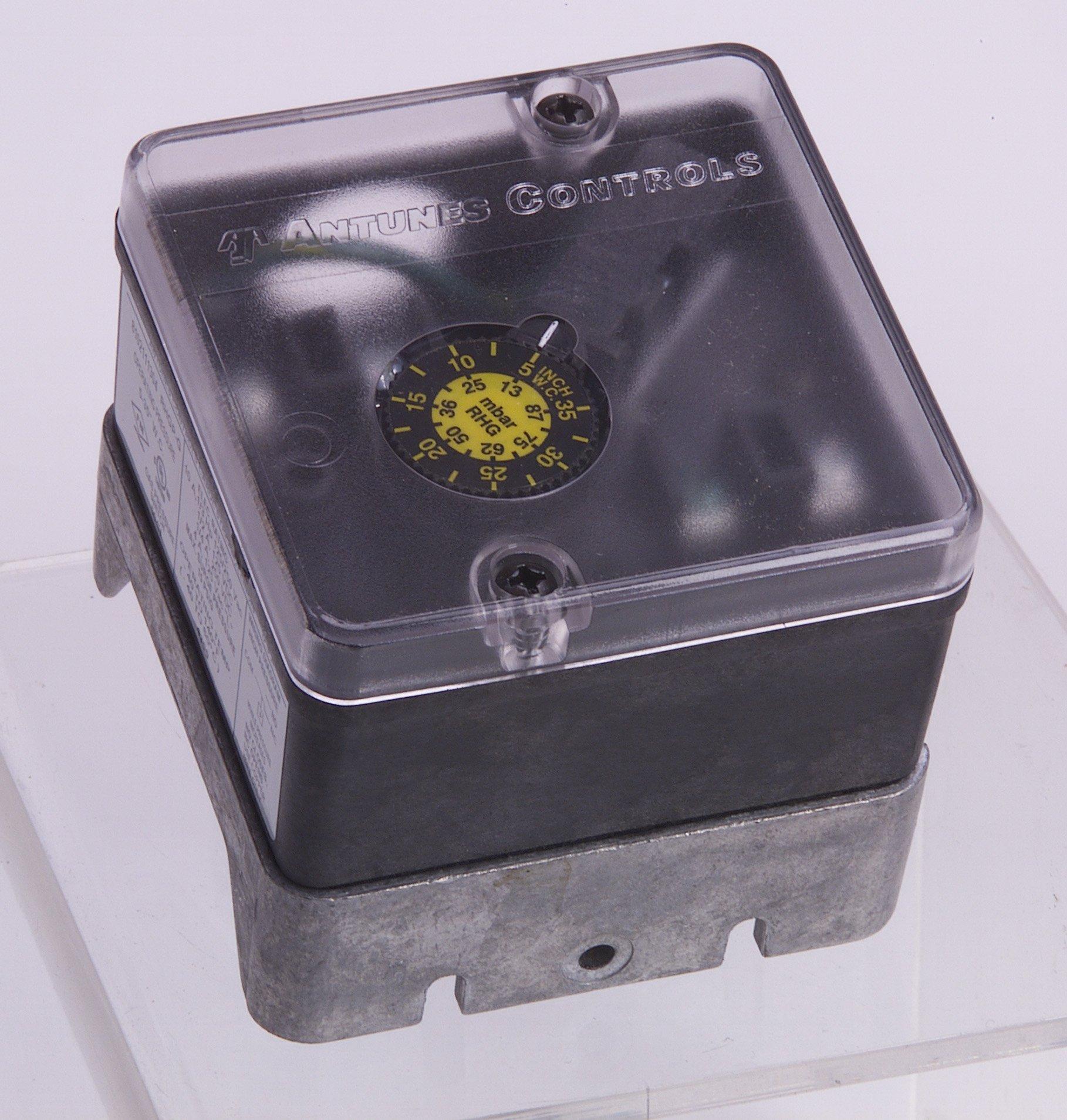 Antunes Controls 8104116203 RHGP-G Single Gas Switch, 1 - 20''wc