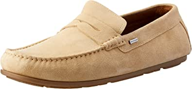 Tommy Hilfiger Men's Classic Suede Penny Loafers