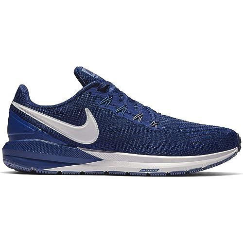 Complicado orquesta Hasta  Buy Nike Men's Air Zoom Structure 22 Running Shoe Blue Void/Vast Grey/Gym  Blue Size 8.5 M US at Amazon.in
