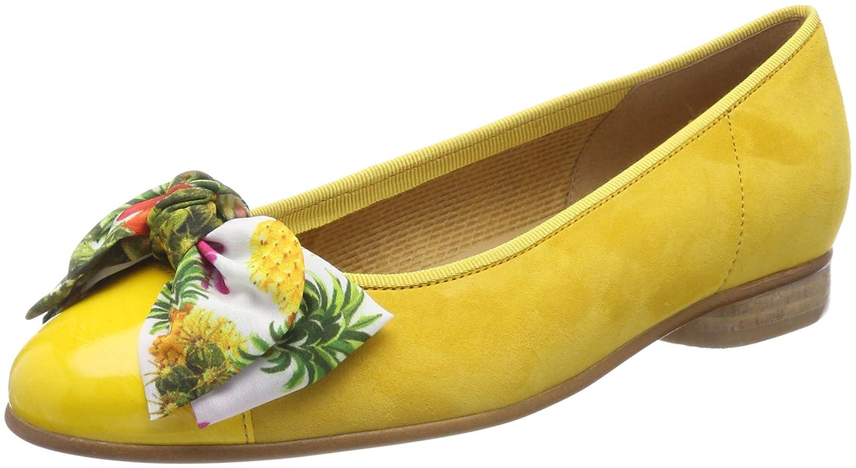 Gabor Femme Shoes Jaune Gabor Basic, Ballerines Femme 19219 Jaune (Sun) bc8709b - fast-weightloss-diet.space