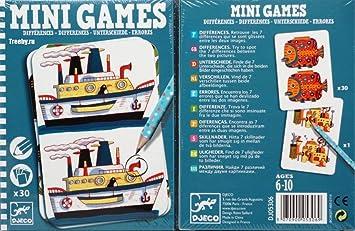 Djeco - Mini-Juegos Las diferencias de Remi: Amazon.es: Juguetes y juegos