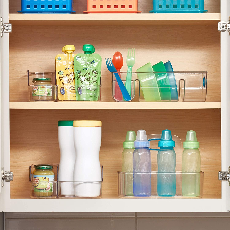 Amazon Com Idesign Idjr Storage Organizer With Two Compartments