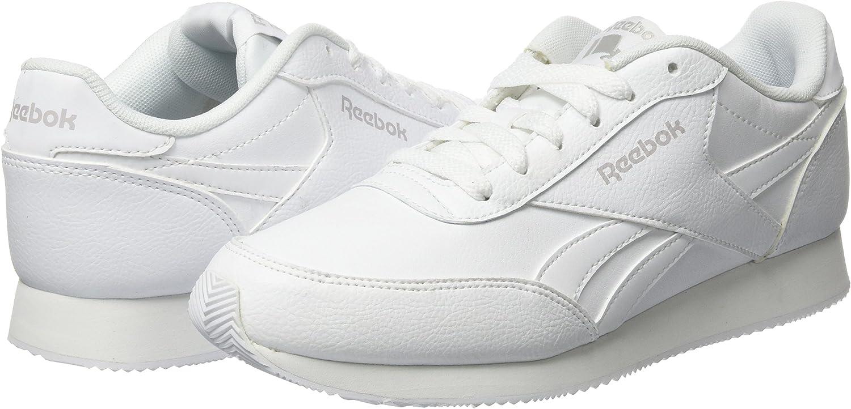 Reebok Royal Classic Jogger 2L, Zapatillas de Deporte para Niños, Blanco (White/White/Steel), 34.5 EU: Amazon.es: Zapatos y complementos
