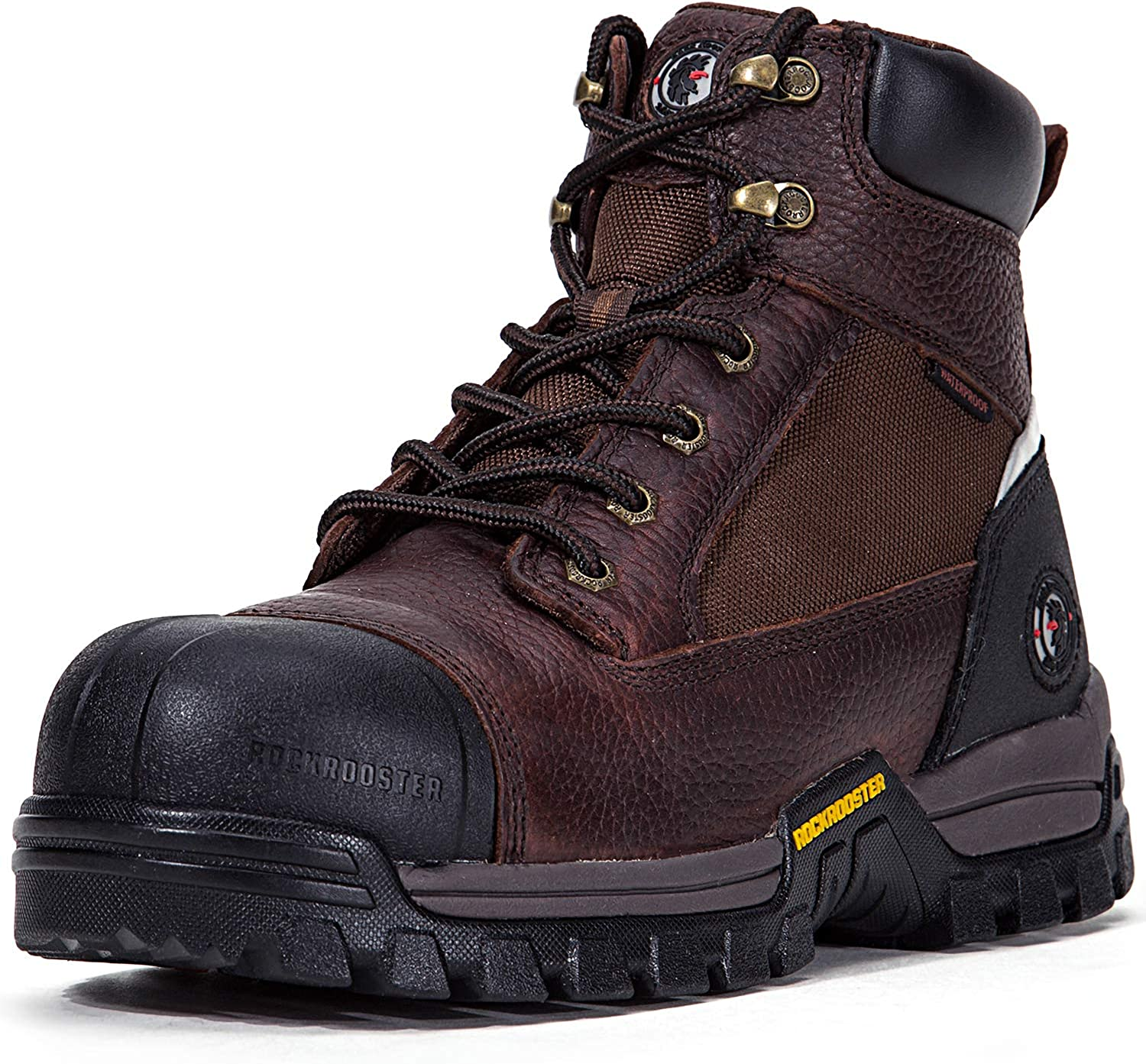MENS COMPOSITE NON-METAL TOE CAP WORK SAFETY SHOES MENS TRAINERS WIDE BOOTS SZ
