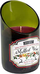 Home Locomotion 12010884 Mulled Cabernet Scented Candle Multicolor