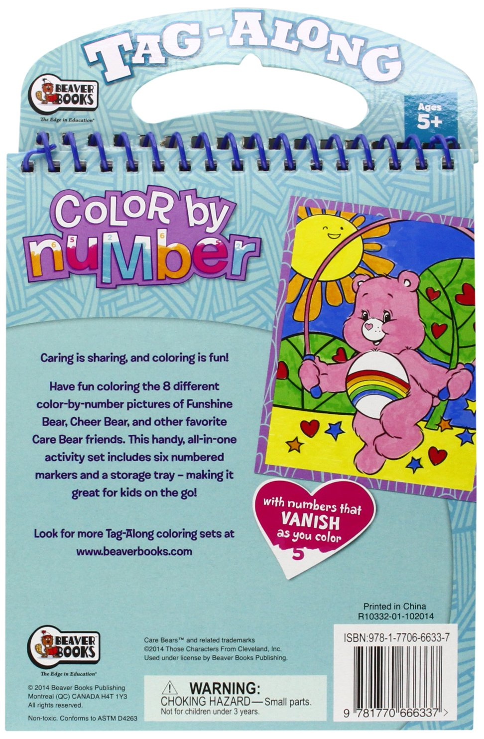 Buy Tag Along Color by Number - Care Bears: Play Day Book Online at ...