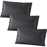 Lescars Luftentfeuchter Kissen: 3er-Set Luft- und Autoentfeuchter, wiederverwendbar, 3x 1 kg (Kfz Luftentfeuchter)
