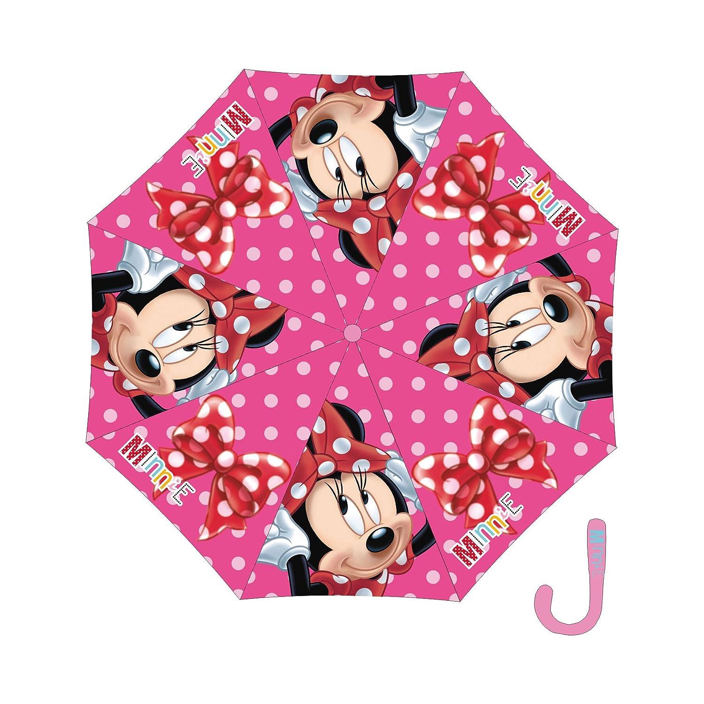 Arditex - 008 137 - Paraguas con apertura automática de poliéster - Minnie 48/8: Amazon.es: Juguetes y juegos