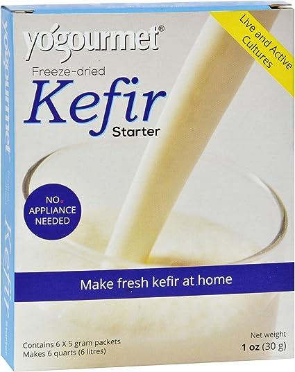 Yogourmet Freeze Dried Kefir Starter, 1 oz. box (Pack of 2): Amazon.es: Alimentación y bebidas