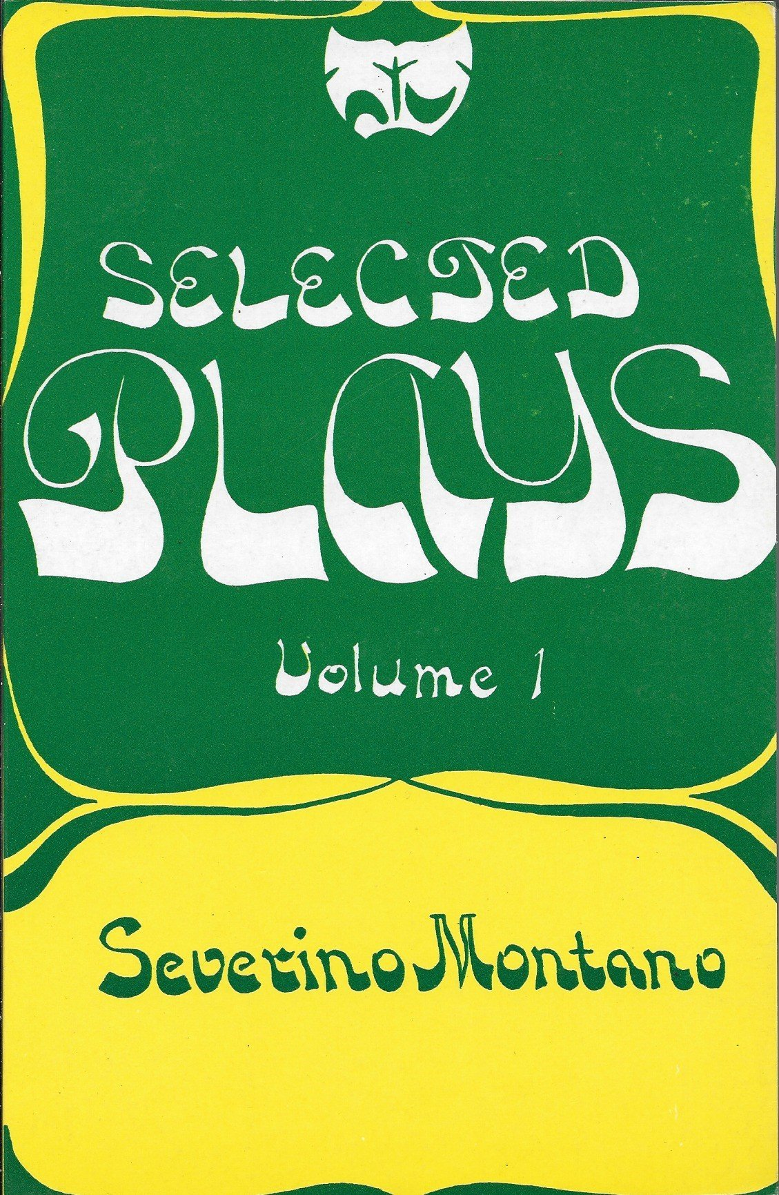 Selected Plays [volume 1]