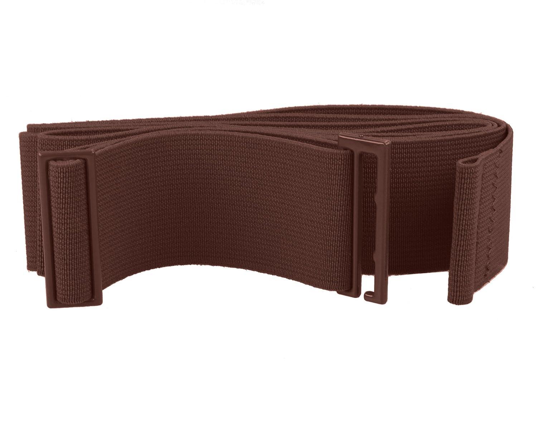 Gelante Lady Invisible Belt Web Canvas Elastic Adjustable Skinny No Show Belt