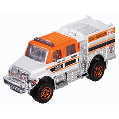 Matchbox 60th Exclusive International Workstar Brush Fire Truck Die-Cast: Toys & Games