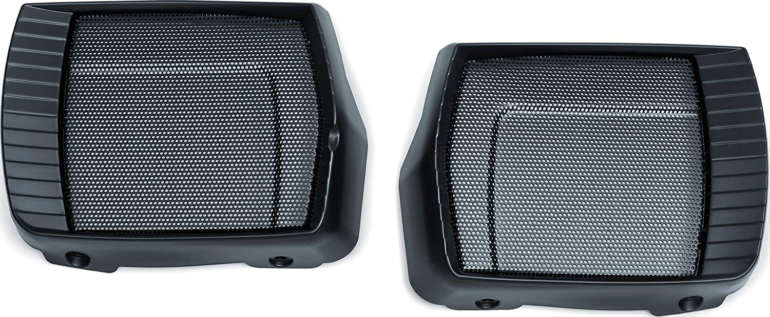 Satin Black Aztec Speaker Grills for 2017-2019 Indian Chieftain /& Roadmaster Motorcycles 1 Pair Kuryakyn 5183 Motorcycle Accent Accessory